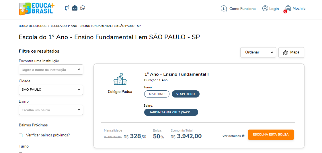 Como Conseguir Bolsa No Educa Mais Brasil Para Ensino Fundamental